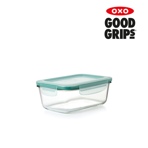 유리 직사각 밀폐용기 - 1.8L (8컵)