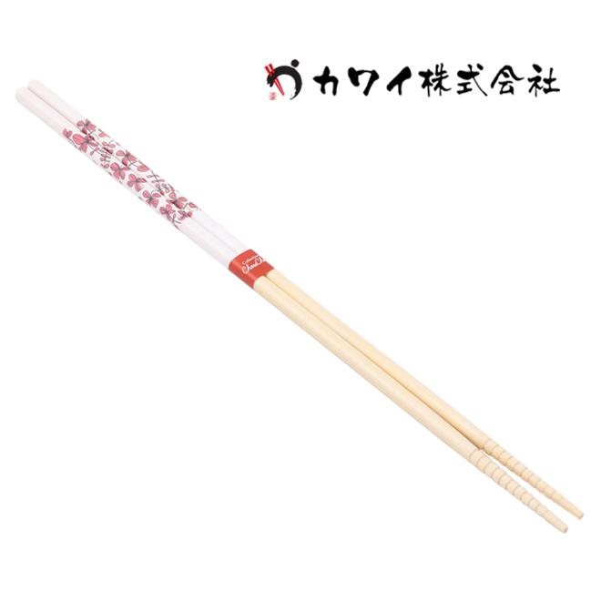 [가와이]튀김 젓가락 클로버 롱/핑크(105048)