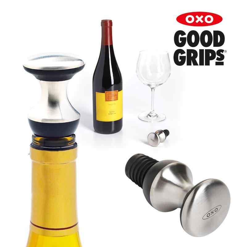[OXO] 스틸 와인 스토퍼(와인 마개)