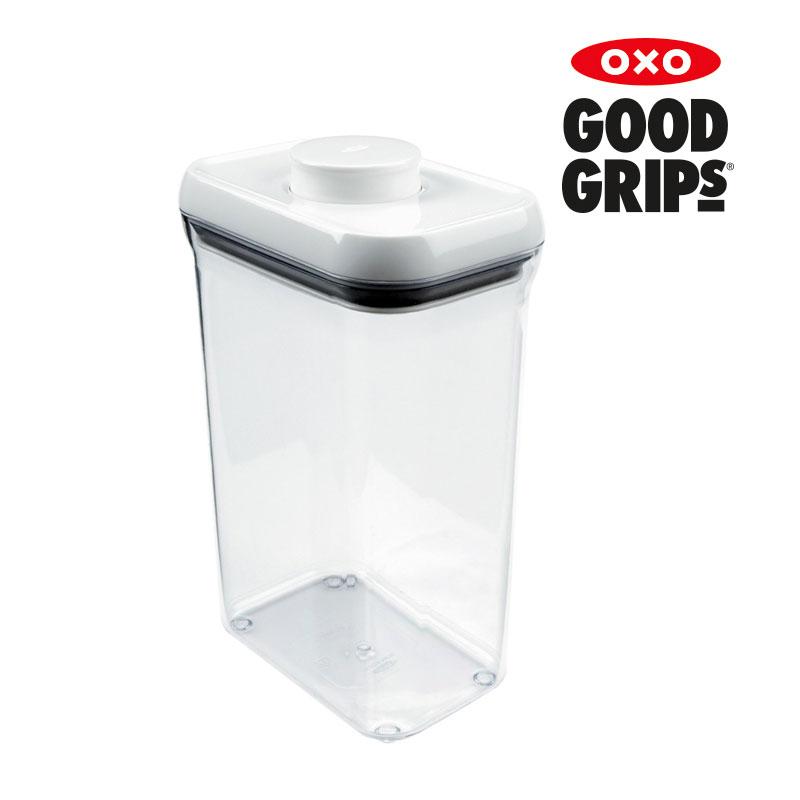 [OXO] 원터치 직사각 밀폐용기 2.5QT