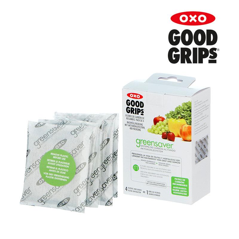 [OXO] 그린세이버 활성탄 필터 리필 4팩