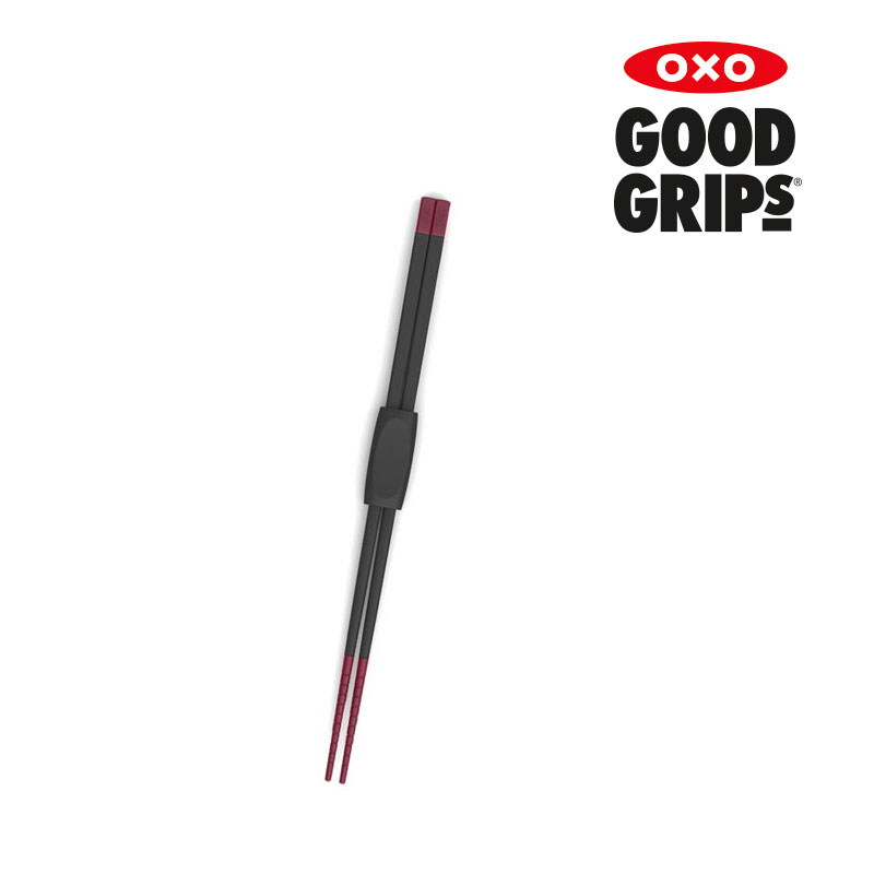 [OXO] 실리콘 쿠킹 촙스틱(실리콘 젓가락)(라즈베리)