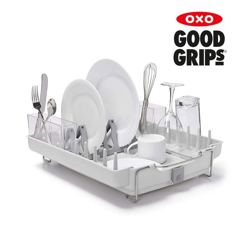 [OXO] 폴드어웨이 디쉬렉(접시수저 건조대)