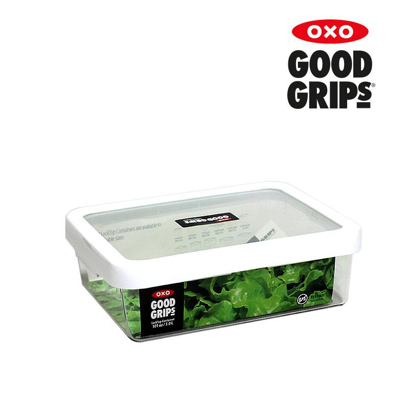 [OXO] 트라이탄 직사각밀폐용기(3L)