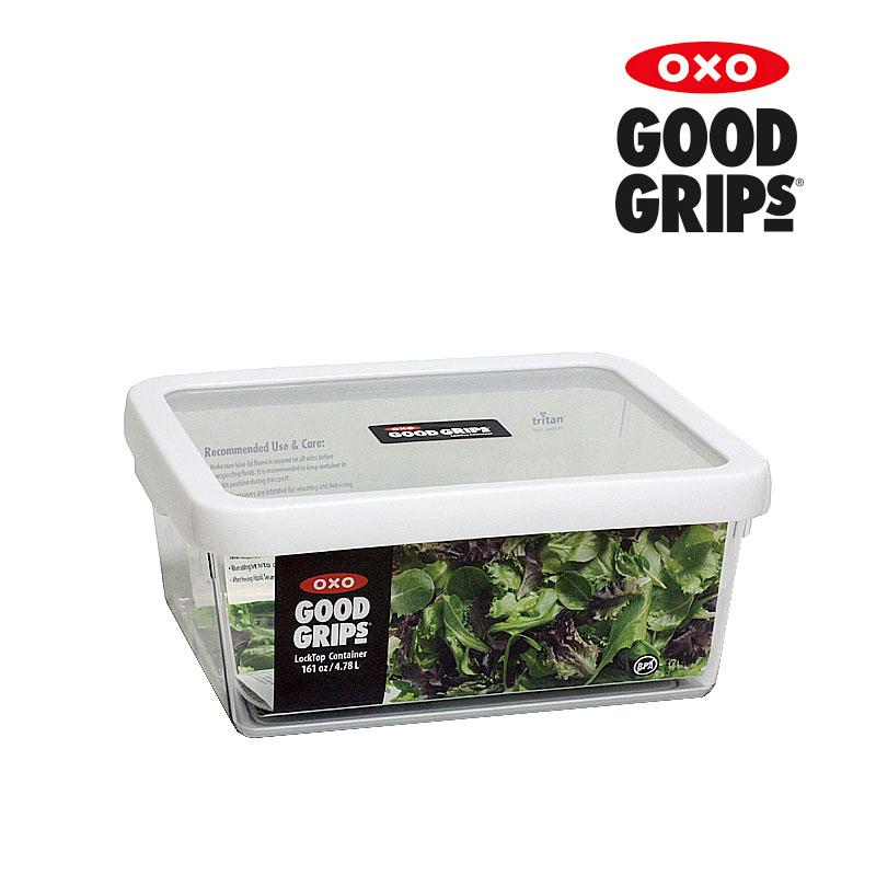 [OXO] 트라이탄 직사각밀폐용기(4.78L)